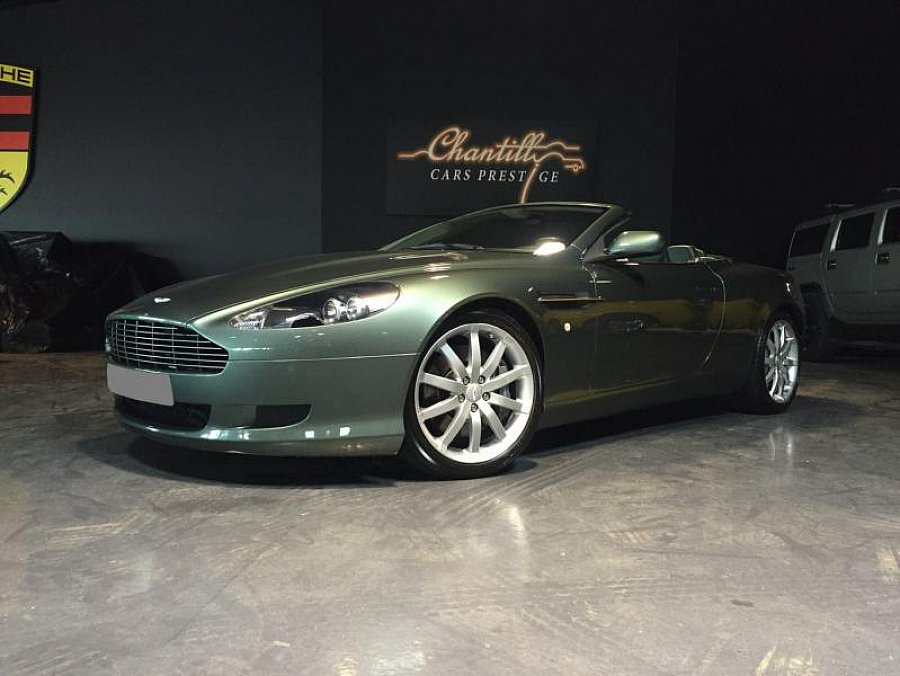aston martin db9 volante 450ch touchtronic cabriolet vert fonc occasion 66 000 44 050 km. Black Bedroom Furniture Sets. Home Design Ideas