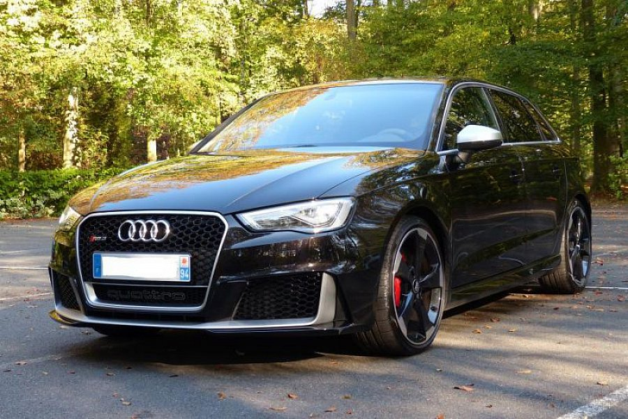 audi rs3 ii sportback 2 5 tfsi 367 ch break noir occasion 58 500 15 000 km vente de. Black Bedroom Furniture Sets. Home Design Ideas