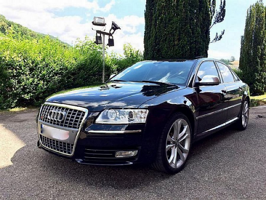 audi s8 d3 5 2 fsi quattro 450 ch berline noir occasion 26 900 134 000 km vente de. Black Bedroom Furniture Sets. Home Design Ideas