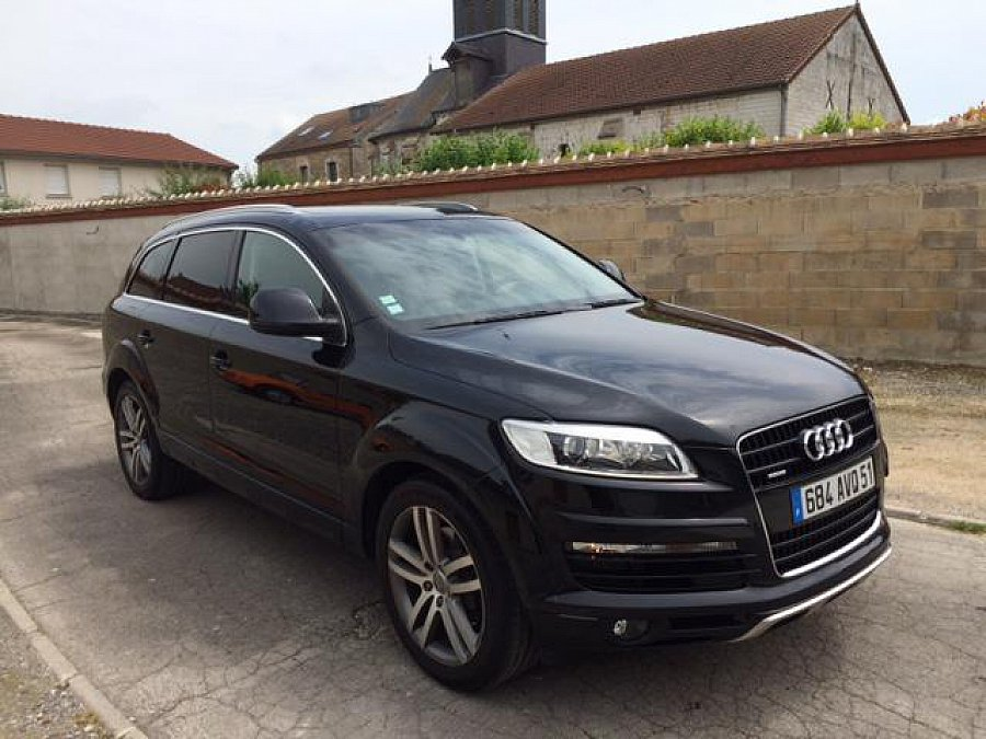 audi q7 i 4 2 tdi v8 326 ch pack 4 off road suv noir occasion 31 000 140 000 km vente de. Black Bedroom Furniture Sets. Home Design Ideas