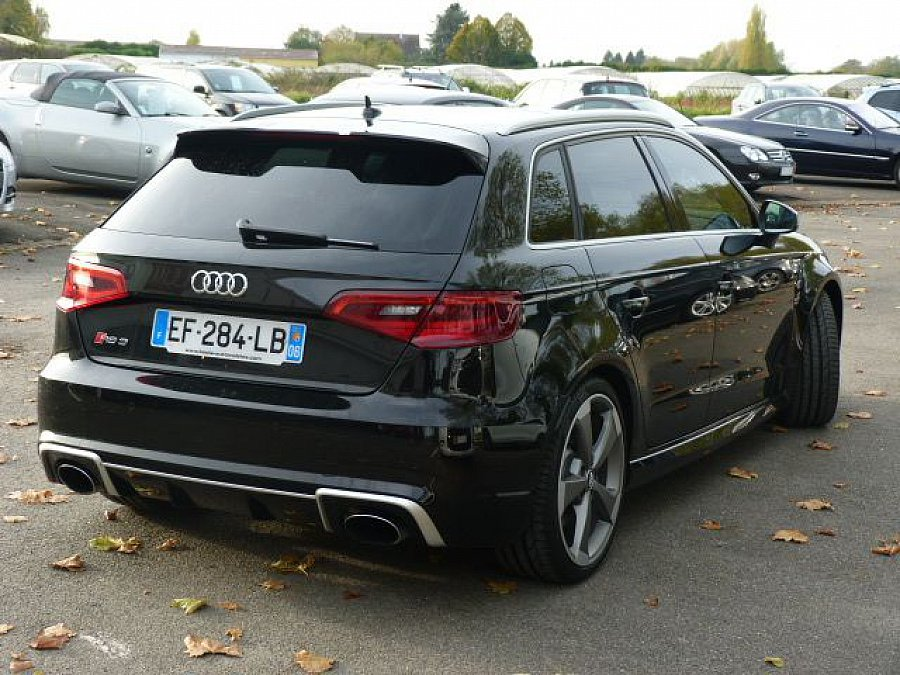 audi rs3 ii sportback 2 5 tfsi 367 ch berline noir occasion 54 870 22 636 km vente de. Black Bedroom Furniture Sets. Home Design Ideas