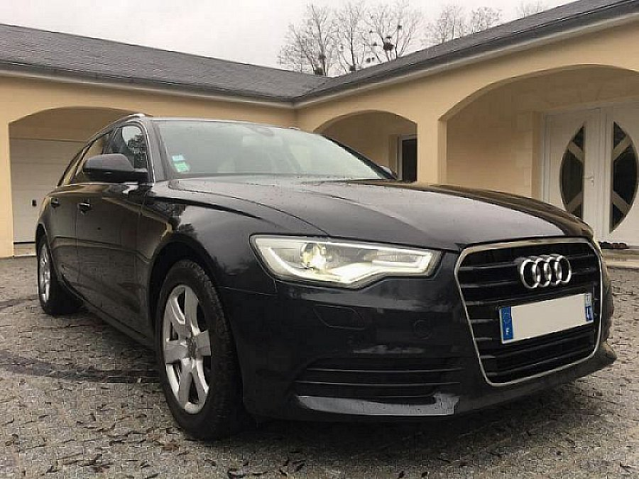 audi a6 avant c7 2 0 tdi 177 ch ambition luxe multitronique break noir occasion 16 990 140. Black Bedroom Furniture Sets. Home Design Ideas