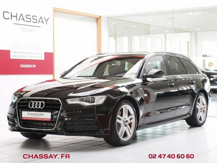 audi a6 avant c7 2 0 tdi 177 ch business line multitronic break noir occasion 39 890 15. Black Bedroom Furniture Sets. Home Design Ideas