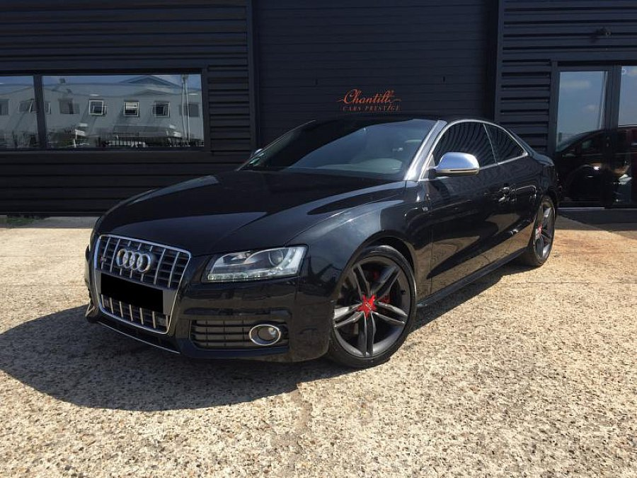 audi s5 i 4 2 fsi v8 quattro 354 ch coup noir occasion 21 900 148 000 km vente de. Black Bedroom Furniture Sets. Home Design Ideas