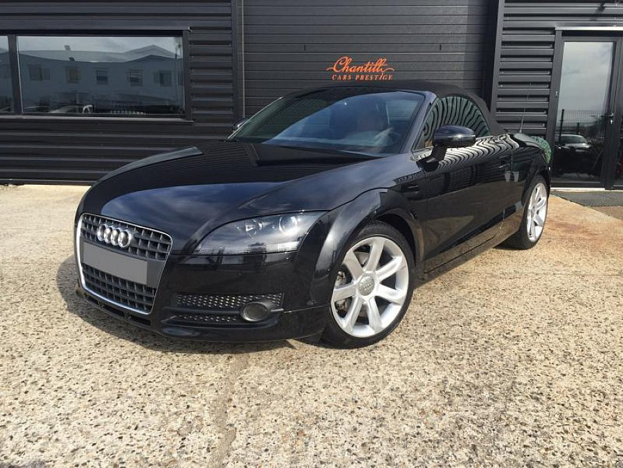 audi tt 8j 2 0 tfsi quattro s cabriolet noir occasion 19 900 50 000 km vente de voiture. Black Bedroom Furniture Sets. Home Design Ideas