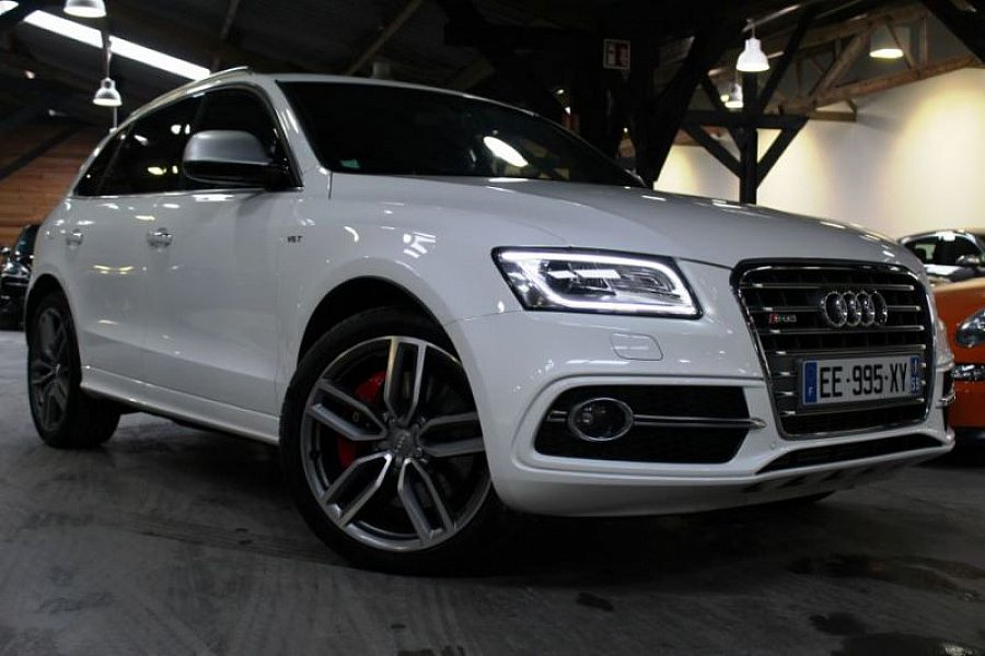audi sq5 3 0 v6 tdi 313ch quattro tiptronic suv blanc. Black Bedroom Furniture Sets. Home Design Ideas