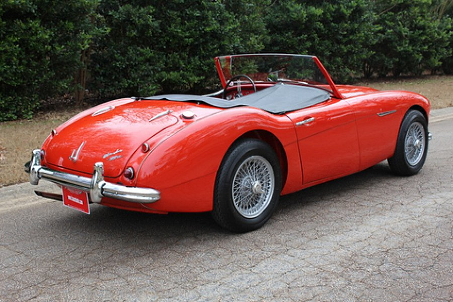 austin healey 3000 cabriolet rouge occasion 74 150 0 km vente de voiture d 39 occasion. Black Bedroom Furniture Sets. Home Design Ideas