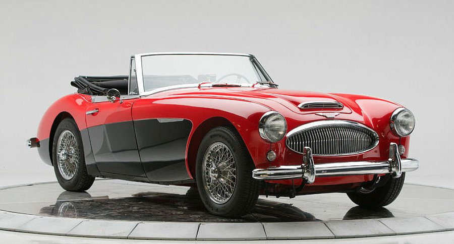 austin healey 3000 mk2 cabriolet rouge occasion 65 950 81 000 km vente de voiture d. Black Bedroom Furniture Sets. Home Design Ideas