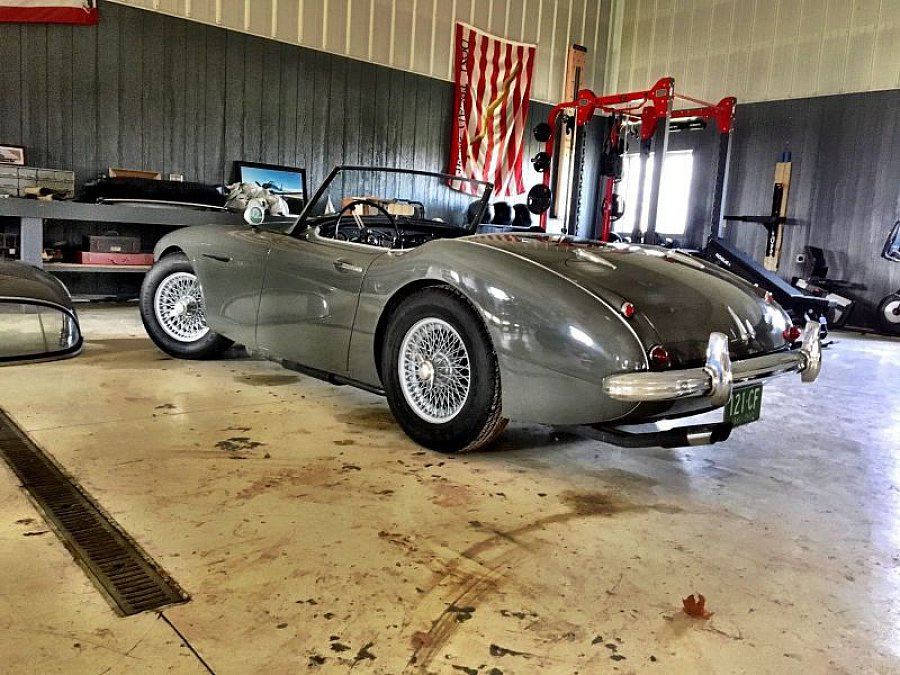 austin healey 3000 cabriolet gris occasion 58 510 100 000 km vente de voiture d 39 occasion. Black Bedroom Furniture Sets. Home Design Ideas