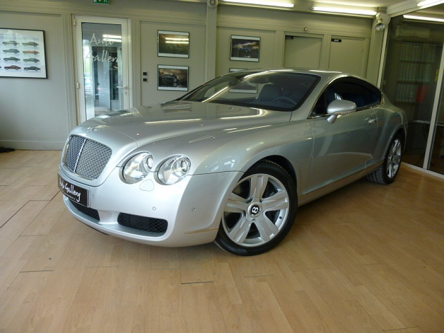 bentley continental gt i w12 coup argent occasion 46. Black Bedroom Furniture Sets. Home Design Ideas