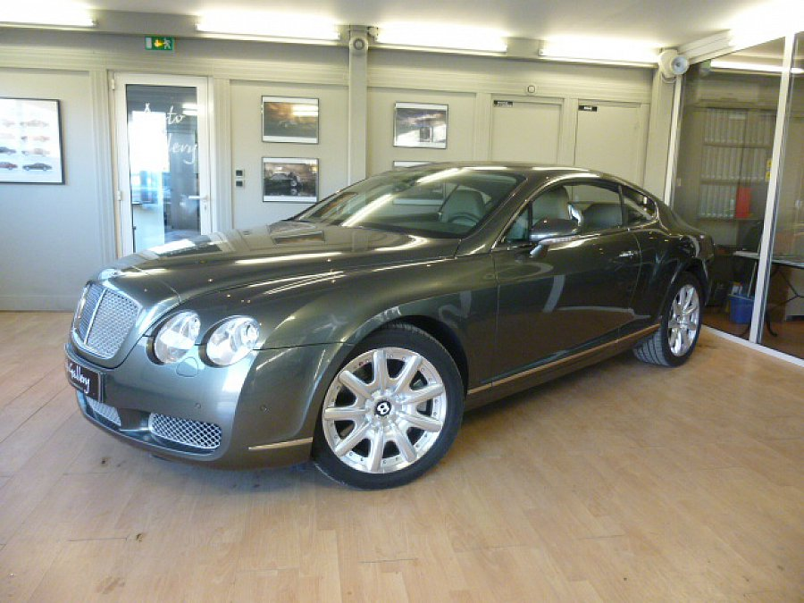 BENTLEY CONTINENTAL GT I W12 coupé Vert occasion - 34 900 €, 104 200 km