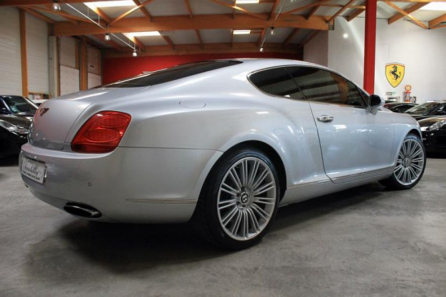 bentley continental gt i speed coup gris occasion 87 900 49 500 km vente de voiture d. Black Bedroom Furniture Sets. Home Design Ideas