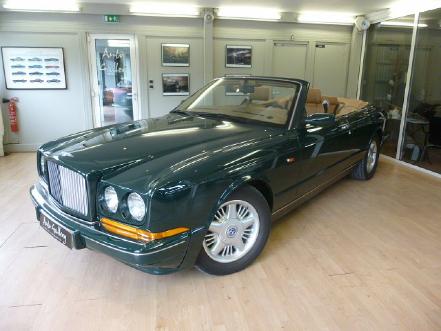 bentley azure cabriolet vert fonc occasion 64 900. Black Bedroom Furniture Sets. Home Design Ideas