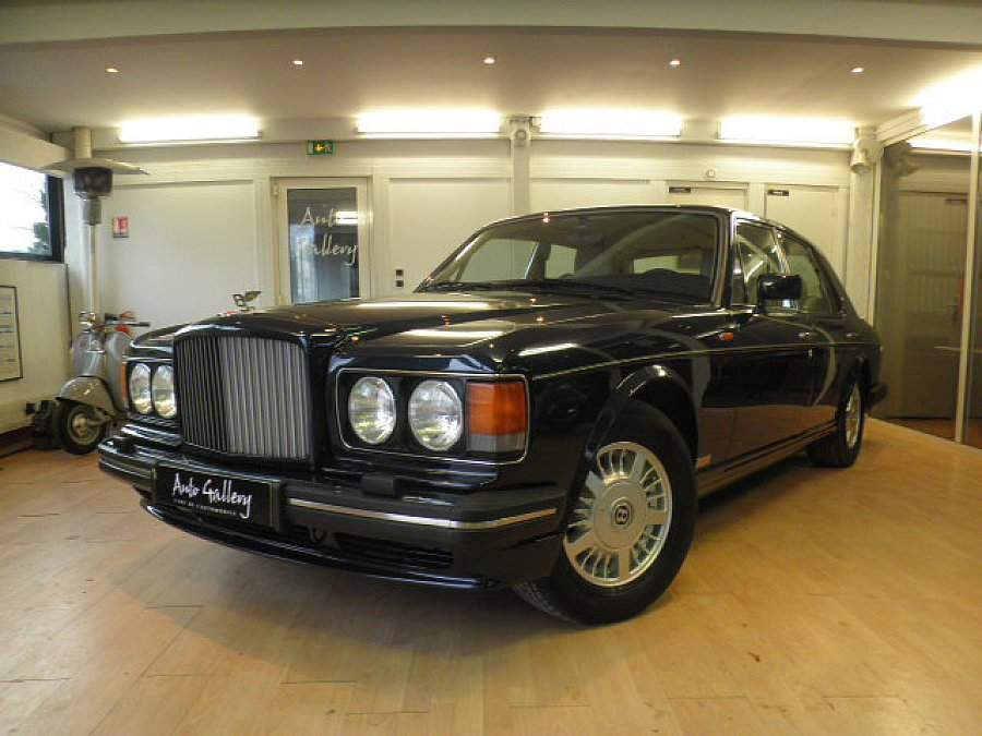 bentley turbo r berline bleu occasion 20 800 43 128 km vente de voiture d 39 occasion. Black Bedroom Furniture Sets. Home Design Ideas