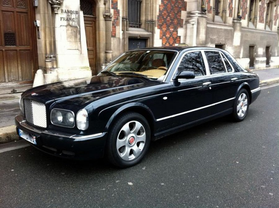 bentley arnage red label 6 75 l berline bleu fonc occasion 34 500 122 000 km vente de. Black Bedroom Furniture Sets. Home Design Ideas