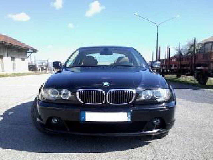 bmw serie 3 e46 330cd 204ch coup noir occasion 8 500 158 000 km vente de voiture d. Black Bedroom Furniture Sets. Home Design Ideas