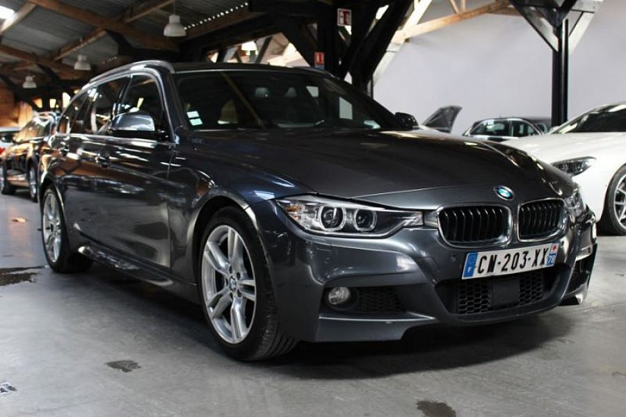 bmw serie 3 f31 touring 330d 258ch m sport bva break gris fonc occasion 26 990 118 900 km. Black Bedroom Furniture Sets. Home Design Ideas