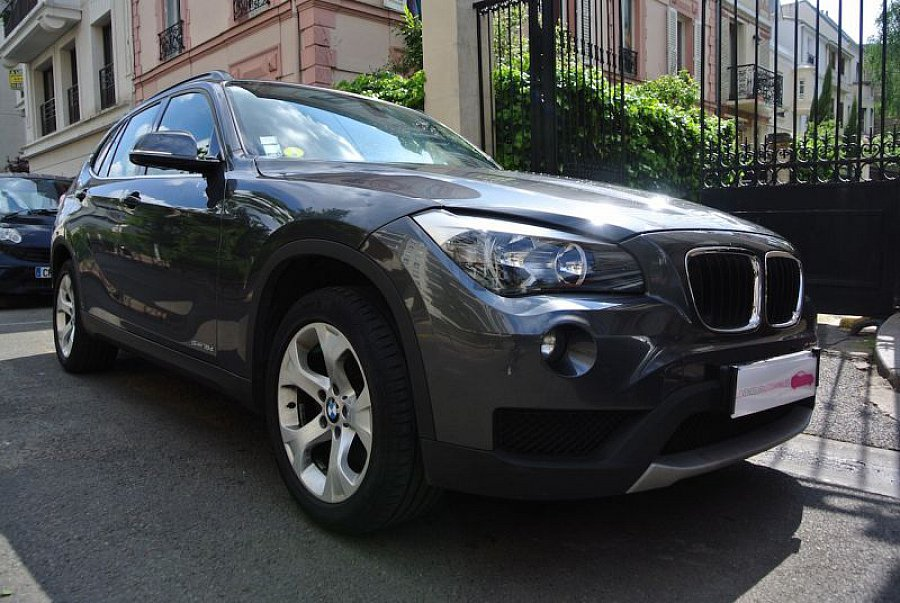bmw x1 e84 sdrive18d lounge plus suv gris fonc occasion 16 890 46 000 km vente de. Black Bedroom Furniture Sets. Home Design Ideas