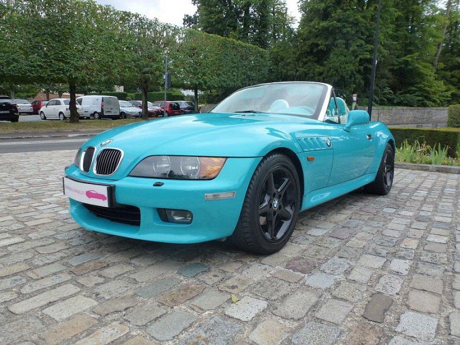 bmw z3 e36 roadster 170ch cabriolet bleu clair. Black Bedroom Furniture Sets. Home Design Ideas