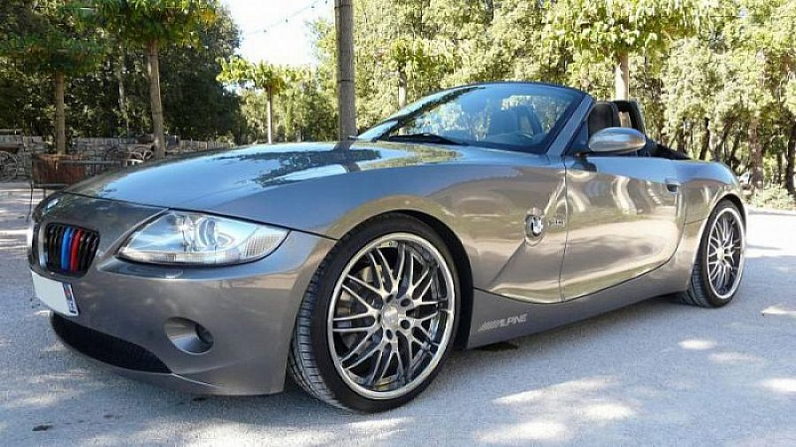 bmw z4 e85 roadster 231ch cabriolet gris occasion 20 500 68 350 km vente de voiture. Black Bedroom Furniture Sets. Home Design Ideas