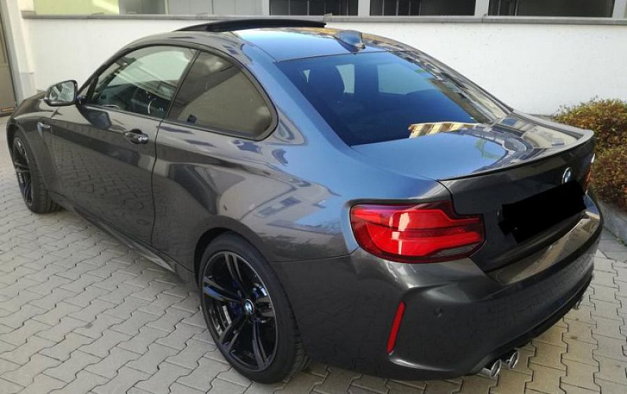 bmw m2 f87 coup 3 0 370 ch coup gris fonc occasion 66 000 980 km vente de voiture d. Black Bedroom Furniture Sets. Home Design Ideas