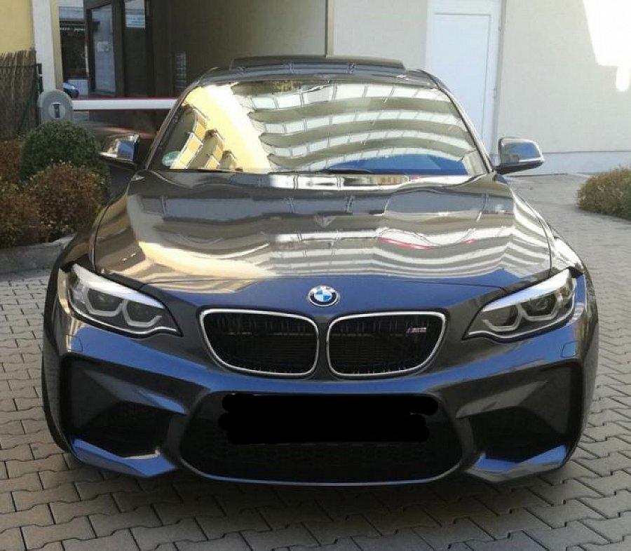 bmw m2 f87 coup 3 0 370 ch coup gris fonc occasion 66 000 980 km vente de voiture d. Black Bedroom Furniture Sets. Home Design Ideas
