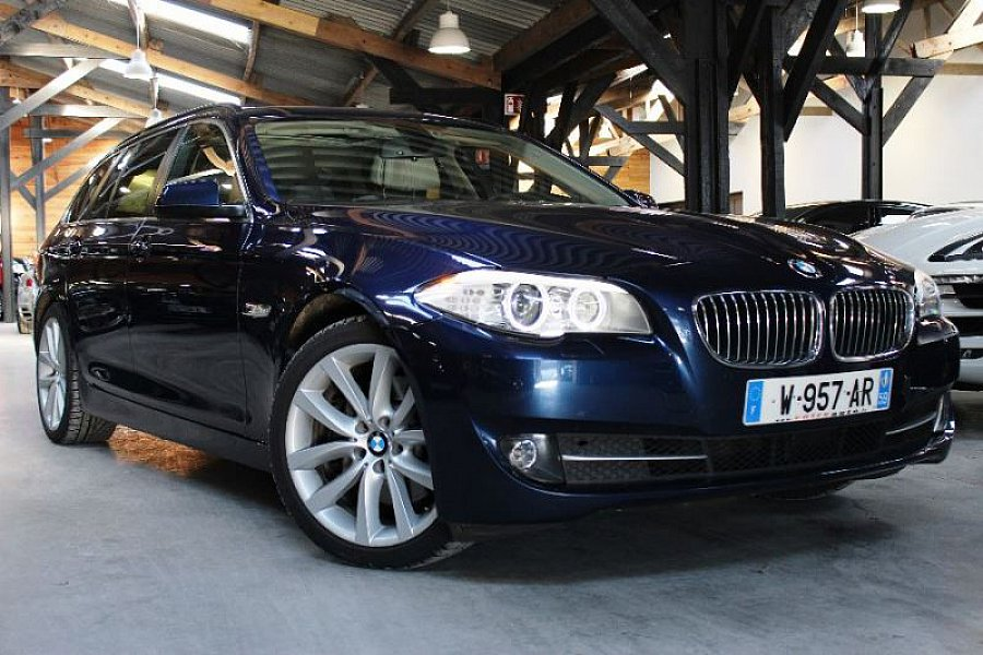 bmw serie 5 f11 touring 530d xdrive luxe break bleu fonc occasion 28 900 88 900 km. Black Bedroom Furniture Sets. Home Design Ideas