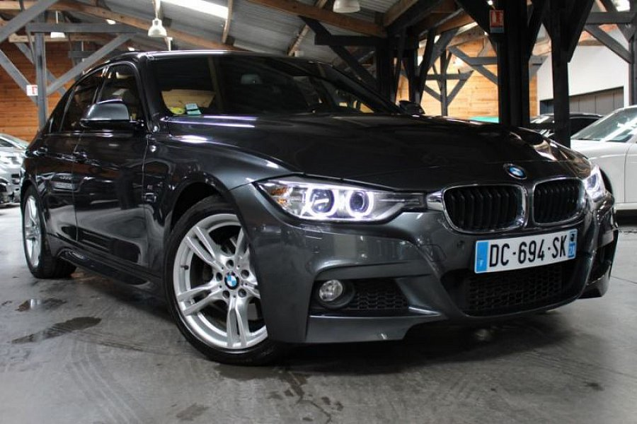 bmw serie 3 f30 berline 325d 218 ch m sport berline gris fonc occasion 33 490 34 999 km. Black Bedroom Furniture Sets. Home Design Ideas