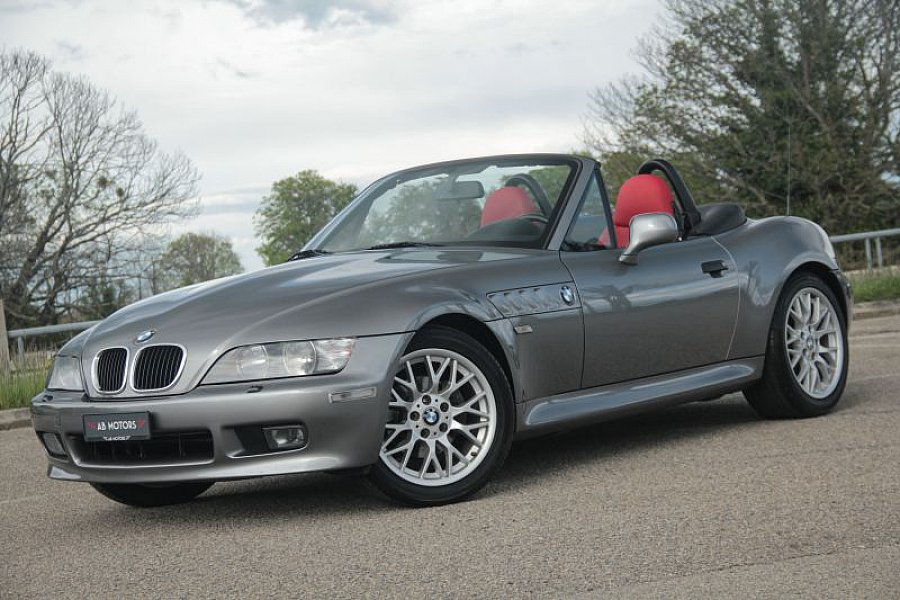 BMW Z3 E36 1.9i Roadster 118ch Sport Edition (facelift) cabriolet Gris occasion - 14 500 €, 100 000 km