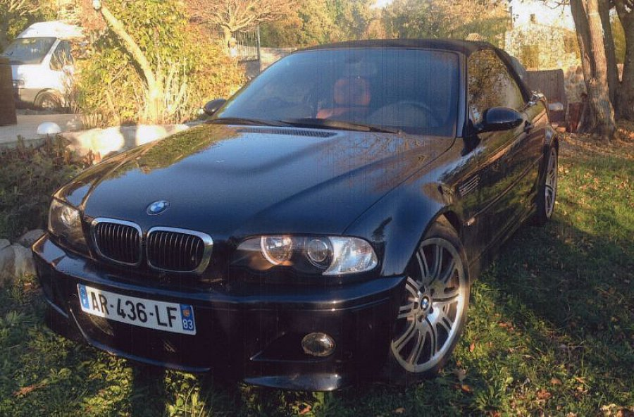 bmw m3 e46 343 ch cabriolet occasion 24 000 95 000 km vente de voiture d 39 occasion. Black Bedroom Furniture Sets. Home Design Ideas