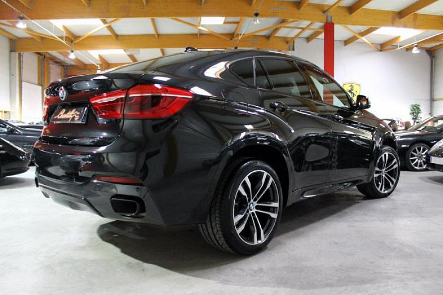 annonce vendue bmw x6 f16 m50d suv noir occasion 79 900 2 900 km vente de voiture d. Black Bedroom Furniture Sets. Home Design Ideas