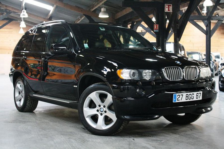bmw x5 e53 suv noir occasion 9 900 144 000 km vente de voiture d 39 occasion motorlegend. Black Bedroom Furniture Sets. Home Design Ideas