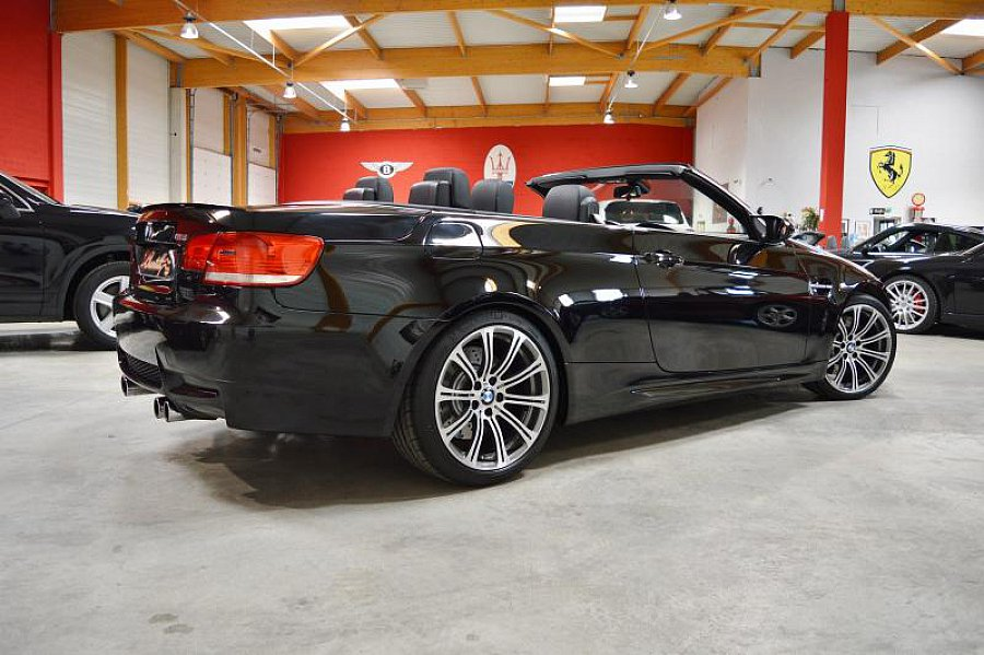 bmw m3 e93 cabriolet v8 420 ch cabriolet noir. Black Bedroom Furniture Sets. Home Design Ideas