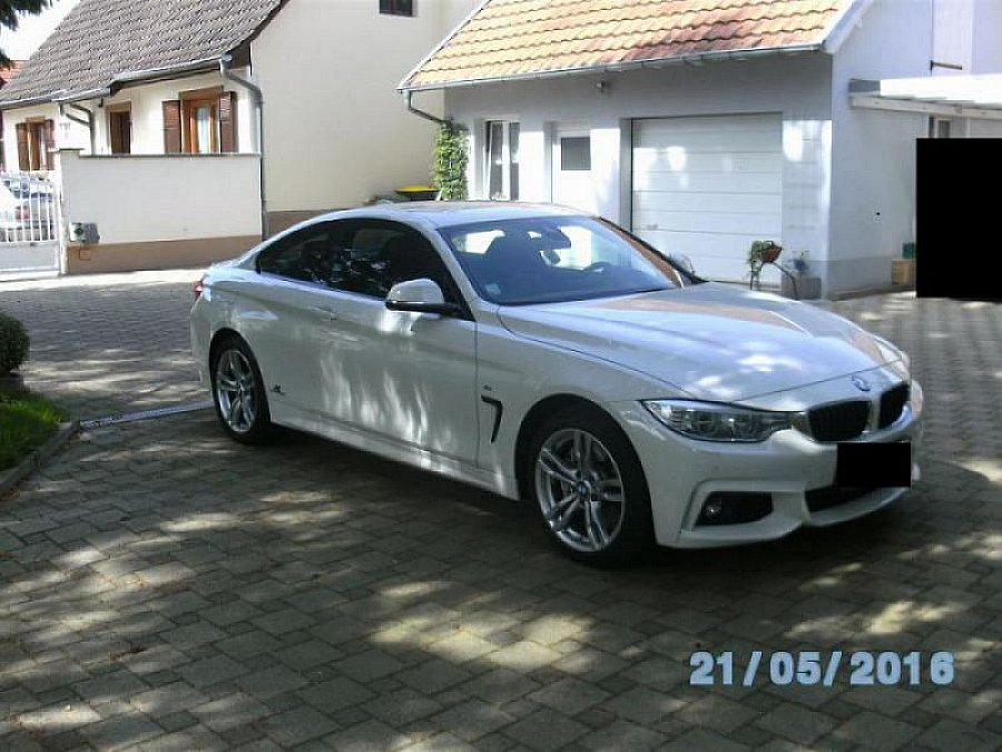 bmw serie 4 f32 coup 435d xdrive pack m coup blanc. Black Bedroom Furniture Sets. Home Design Ideas