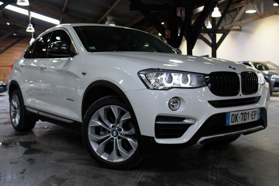 bmw x4 f26 xdrive35d m sport suv blanc occasion 54 890 66 000 km vente de voiture d. Black Bedroom Furniture Sets. Home Design Ideas
