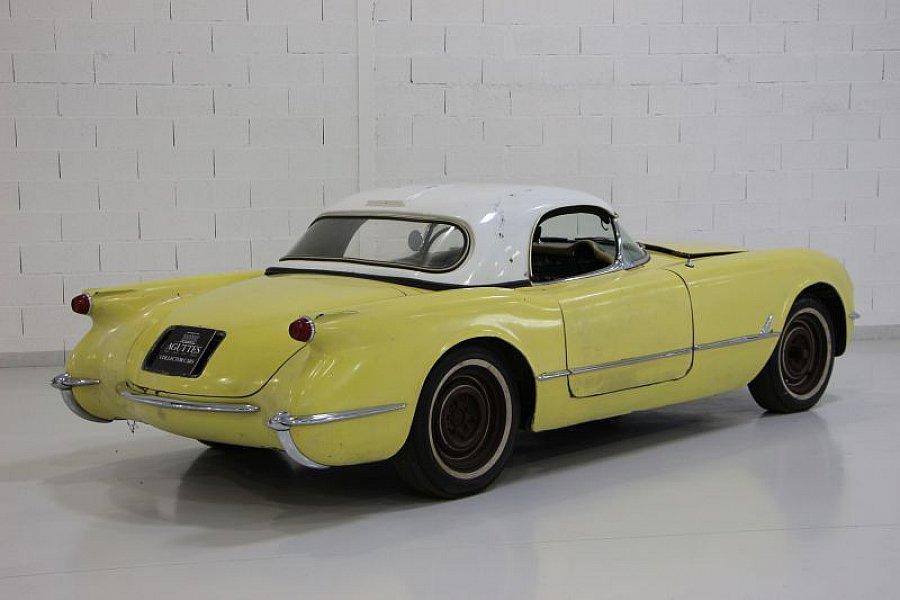 chevrolet corvette c1 coup jaune clair occasion 0 68 151 km vente de voiture d 39 occasion. Black Bedroom Furniture Sets. Home Design Ideas