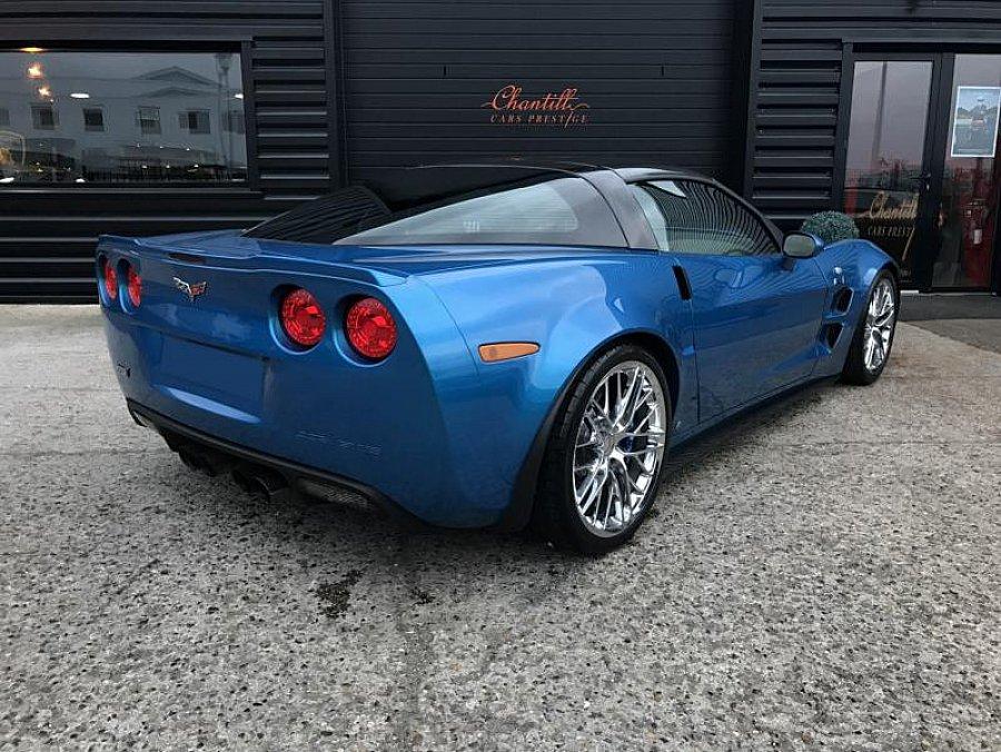 chevrolet corvette c6 zr1 6 2 647ch coup bleu occasion 89 000 22 400 km vente de. Black Bedroom Furniture Sets. Home Design Ideas