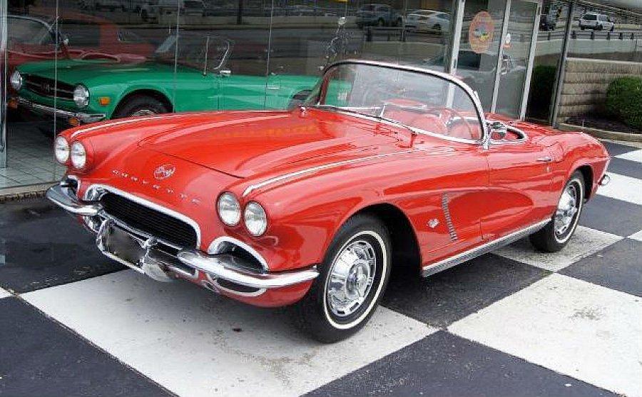 chevrolet corvette 5 4 small block v8 327ci cabriolet rouge occasion 62 105 20 000 km. Black Bedroom Furniture Sets. Home Design Ideas
