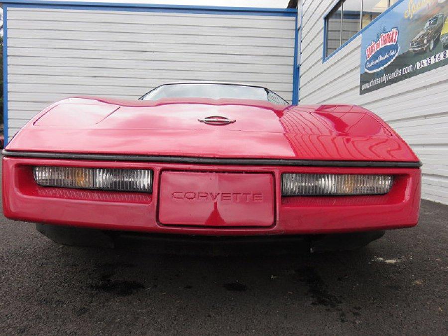 chevrolet corvette c4 5 7 v8 350ci pace car cabriolet rouge occasion 14 900 99 999 km. Black Bedroom Furniture Sets. Home Design Ideas