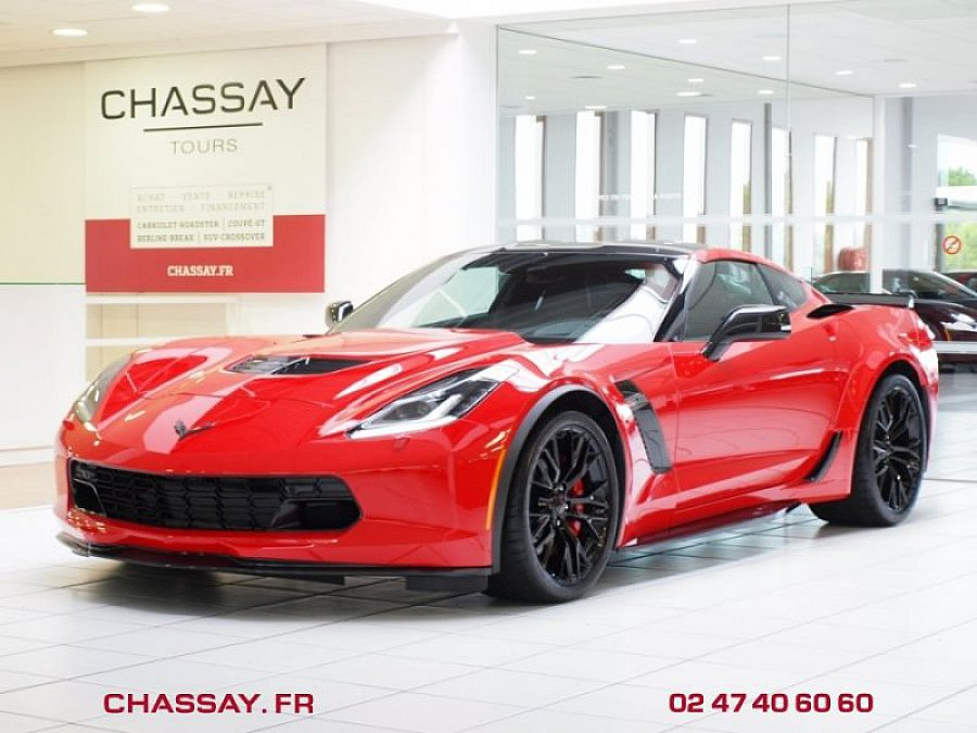 CHEVROLET CORVETTE C7 Z06 659 ch coupé Rouge occasion - 107 900 €, 10 km