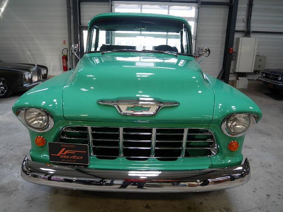 CHEVROLET 3100 PICK UP BIG WINDOWS Vert clair occasion - 54 900 €, 1 115 km