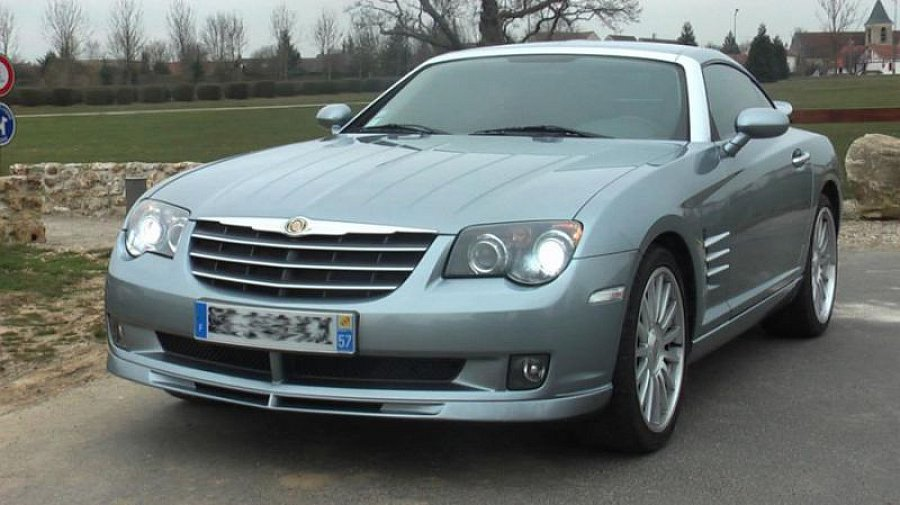 chrysler crossfire srt 6 coup gris clair occasion 17 000 56 000 km vente de voiture d. Black Bedroom Furniture Sets. Home Design Ideas