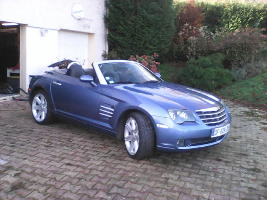 CHRYSLER CROSSFIRE 3.2 V6 black edition cabriolet Bleu clair occasion - 12 000 €, 152 000 km