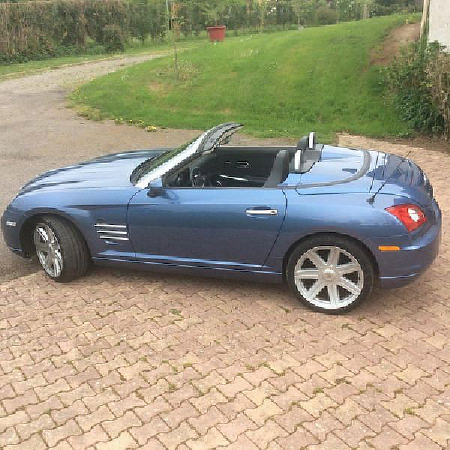 chrysler crossfire 3 2 v6 alu pack sport cabriolet bleu clair occasion 12 000 154 000 km. Black Bedroom Furniture Sets. Home Design Ideas