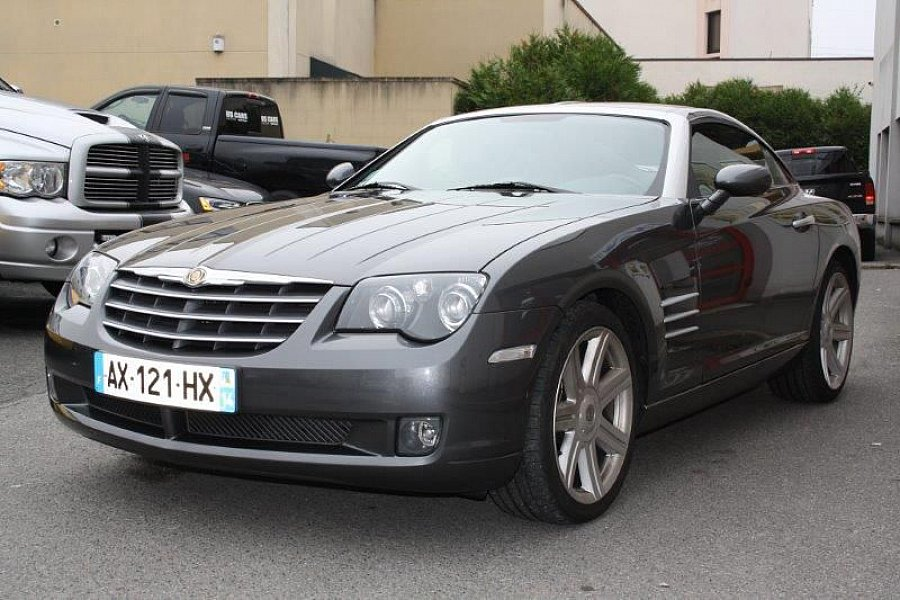 chrysler crossfire 3 2 v6 limited coup gris occasion 13 900 32 000 km vente de voiture. Black Bedroom Furniture Sets. Home Design Ideas