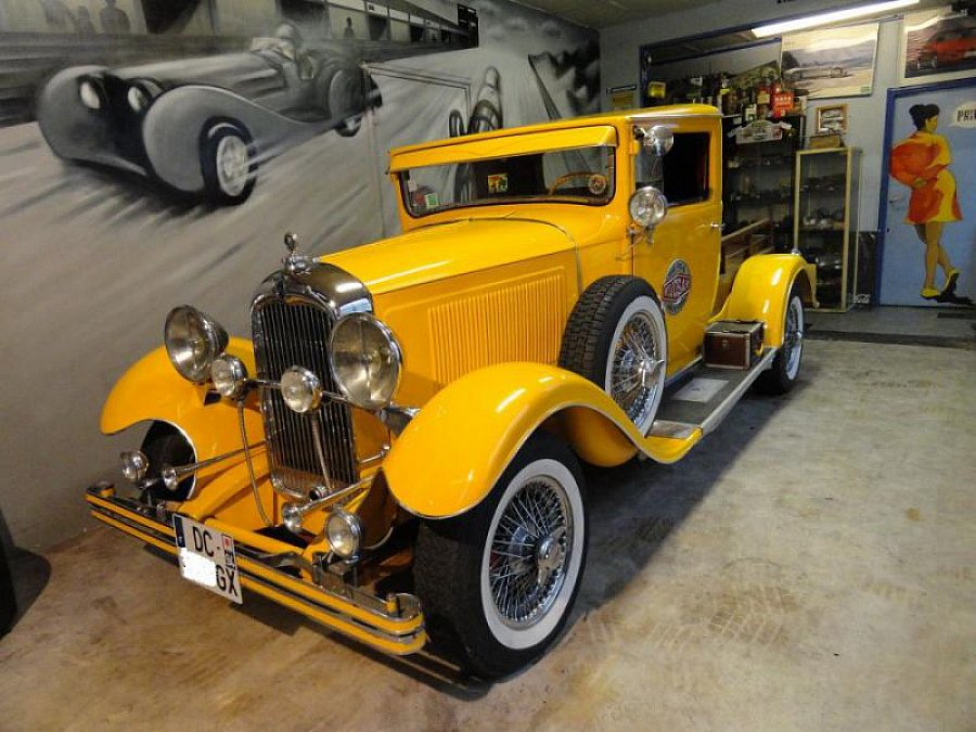 citroen type c4 hot rod v8 pick up jaune occasion 20 000 5 300 km vente de voiture d. Black Bedroom Furniture Sets. Home Design Ideas