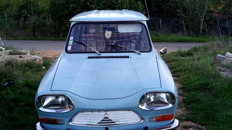 citroen ami 8 berline bleu clair occasion 2 000 98 062 km vente de voiture d 39 occasion. Black Bedroom Furniture Sets. Home Design Ideas