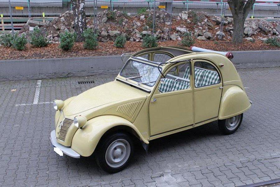 citroen 2 cv 6 cabriolet beige occasion 3 500 35 445. Black Bedroom Furniture Sets. Home Design Ideas