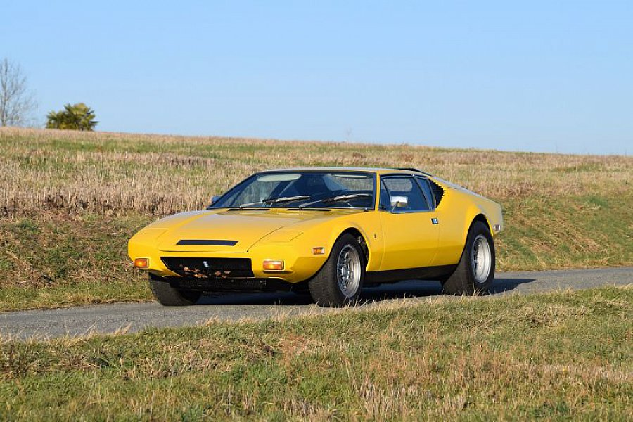 de tomaso pantera coup jaune occasion 0 76 983 km vente de voiture d 39 occasion motorlegend. Black Bedroom Furniture Sets. Home Design Ideas