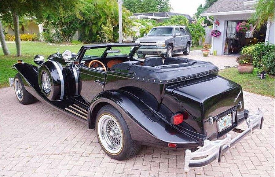 excalibur phaeton s rie iv cabriolet noir occasion 46 770 20 000 km vente de voiture d. Black Bedroom Furniture Sets. Home Design Ideas